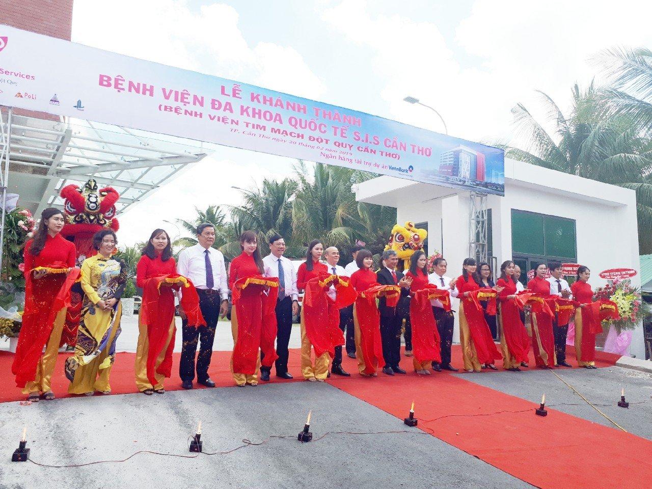 Lễ Khánh Thành Bệnh Viện Đột Quỵ Tim Mạch Cần Thơ 02/2019