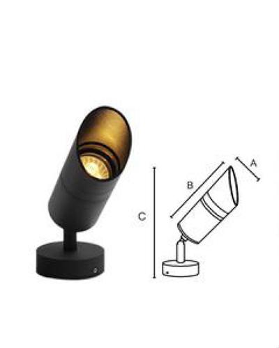 đèn led chiếu điểm sân vườn