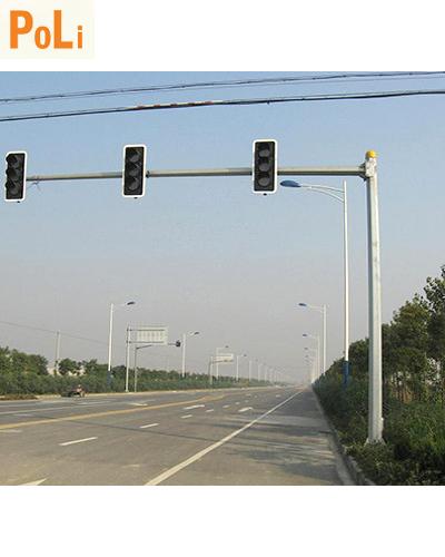 Trụ tín hiệu giao thông 6met vươn 6m