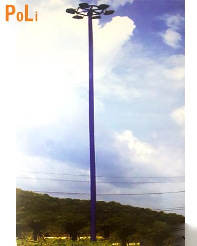 trụ đa giác 25m giàn đèn nâng hạ
